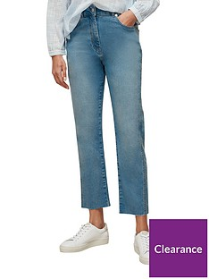 whistles-authentic-slim-frayed-detail-jeans-blue