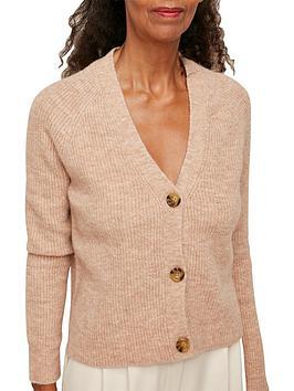 whistles-rib-textured-wool-mix-cardigan-camel