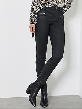 mint-velvet-denver-coated-biker-jean-black
