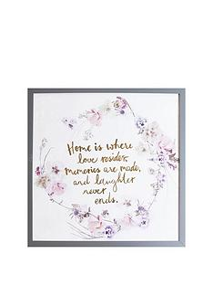 arthouse-home-memories-framed-print-with-gold-foil