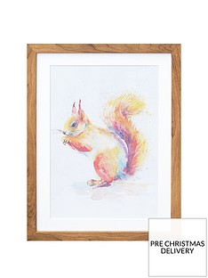arthouse-squirrel-framed-print