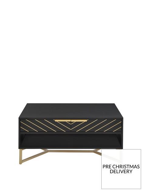 chevron-2-drawer-coffee-table-blackgold