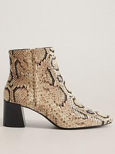 mango-pu-snake-print-ankle-boot-brown