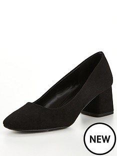 v-by-very-dove-block-heel-court-shoes-black