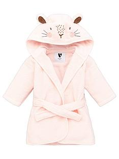 mini-v-by-very-baby-giftingnbspbaby-girls-towellingnbsprabbit-robe-pink