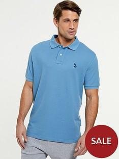 us-polo-assn-core-pique-regular-fitnbsppolo-shirt-blue