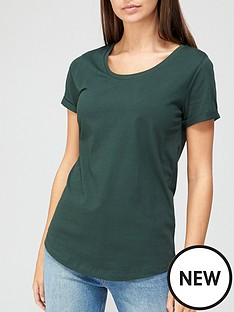 v-by-very-basic-scoop-neck-t-shirt-green
