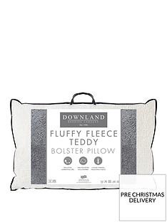 downland-everyday-fluffy-fleece-teddy-bolster-pillownbsp