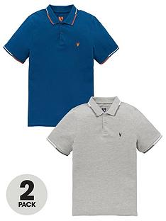 v-by-very-boys-2-pack-polos-greyteal