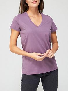 v-by-very-thenbspbasic-v-neck-t-shirt-plumnbsp