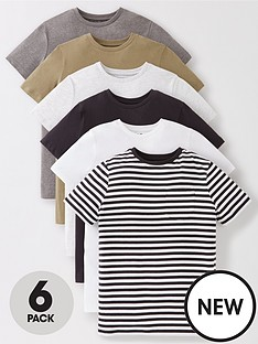 v-by-very-boys-6-pack-short-sleeve-pocket-t-shirts-multi