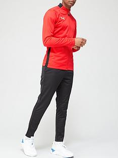 puma-football-play-tracksuit-redblacknbsp