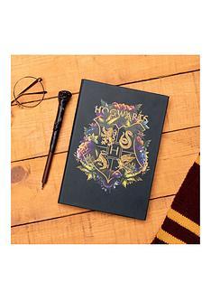 harry-potter-hogwarts-floral-notebook-harry-potter-pen