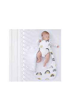 snuz-snuzpouch-sleeping-bag-1-tog-mustard-rainbow-0-6-months