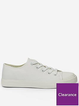 dorothy-perkins-icon-canvas-trainers--nbspwhite