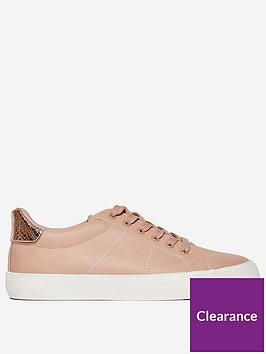 dorothy-perkins-ink-lace-up-trainers-blush