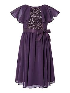 monsoon-girls-sustainable-cape-sequin-dress-purple