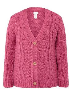 monsoon-girls-chunky-knitted-cardi-pink