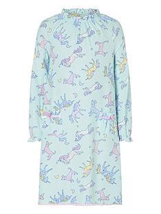 monsoon-girls-unicorn-print-nightie-aqua