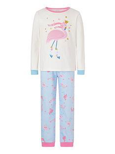 monsoon-girls-flamingo-jersey-pyjama-set-ivory