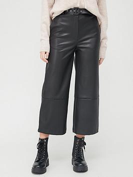 v-by-very-pu-culottes-black
