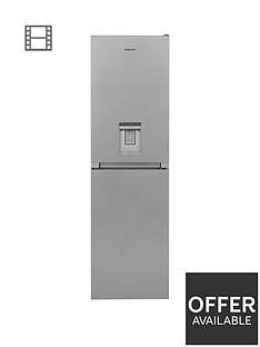 hotpoint-hbnf55181saquauk-55cm-width-no-frost-fridge-freezer-with-waternbspdispenser-silver