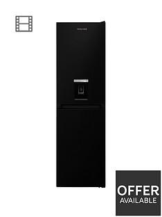 hotpoint-hbnf55181baqua1nbsp55cm-width-no-frost-fridge-freezer-with-water-dispenser-black