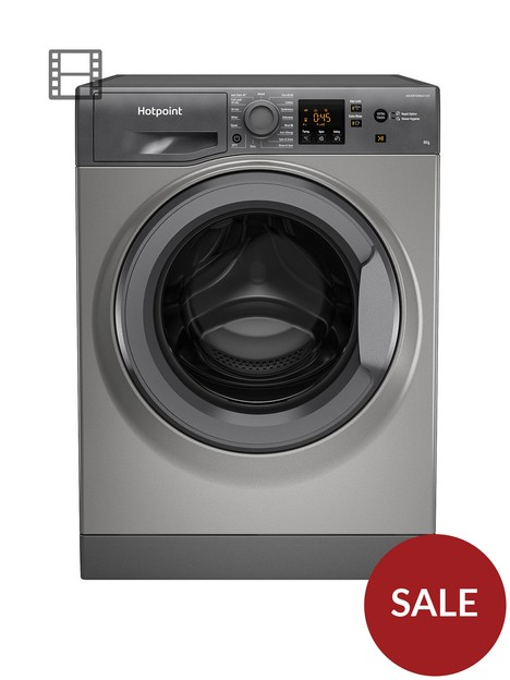 hotpoint-nswm863cggukn-8kg-load-1600-spin-washing-machine-graphite