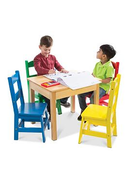 melissa-doug-table-4-chairs-primary-colours