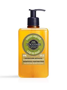 loccitane-shea-butter-verbena-liquid-soap-500ml