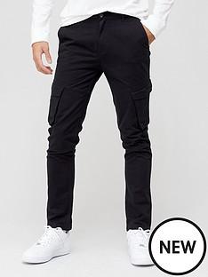 very-man-cargo-trouser-black