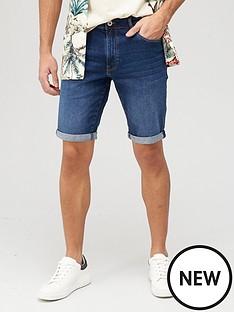 very-man-slim-denim-shorts-with-stretch-mid-blue