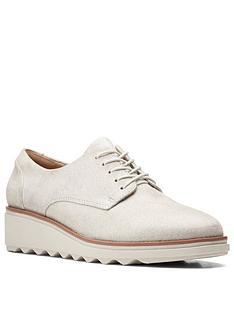 clarks-sharon-noel-leather-brogue-wedge-shoe-silver