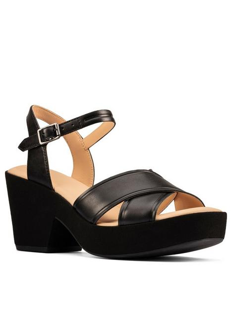 clarks-maritsa70-strap-leather-heeled-sandal-black