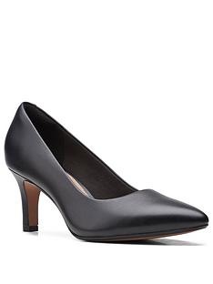 clarks-illeana-tulip-leather-heeled-shoe-black
