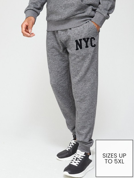 very-man-new-york-marl-jogger-grey