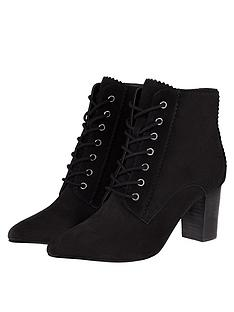 monsoon-lace-up-suede-ankle-boots-black