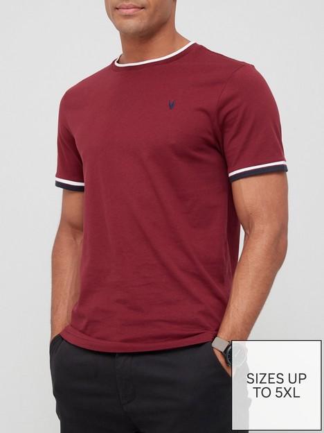 very-man-tipped-t-shirt-burgundy