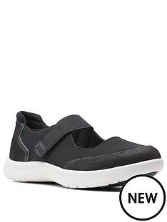 clarks-adella-west-flat-shoe-tan
