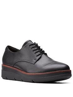 clarks-shaylin-lace-leather-wedge-shoe-black