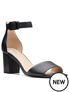 clarks-deva-mae-leather-heeled-sandal--nbspblack