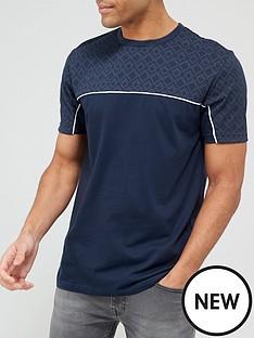 very-man-geonbspprint-t-shirt-navy