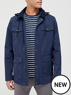 very-man-hooded-cord-collar-jacket-navy