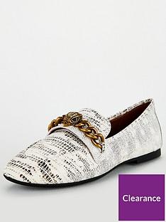 kurt-geiger-london-chelsea-loafer-flat-shoes-blackwhitenbsp