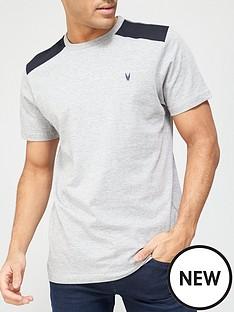 very-man-twill-shoulder-patch-t-shirt-greynbsp