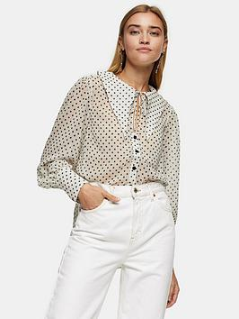 topshop-spot-collar-blouse--nbspcream