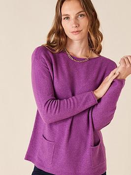 monsoon-pocket-detail-jumper-purple
