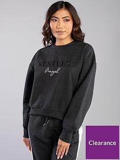 boux-avenue-restless-angelnbsplounge-sweatshirt-charcoal