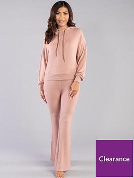 boux-avenue-lia-lounge-hoodie-pink