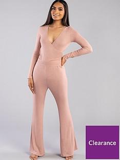 boux-avenue-lia-lounge-flare-pant-pink